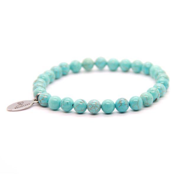 Natuursteen armband turquoise