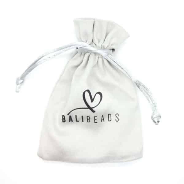 Natuursteen armband cadeautasje Bali Beads