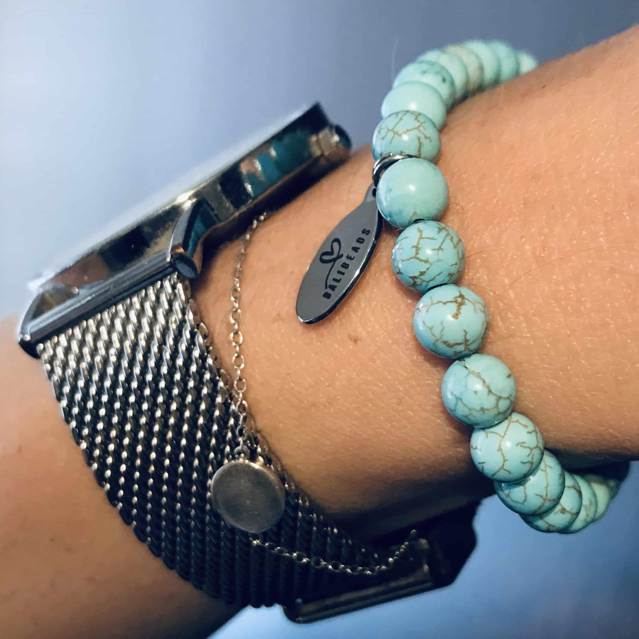 Natuursteen armband