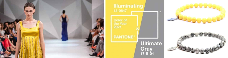 Modekleuren 2021, natuursteen armband
